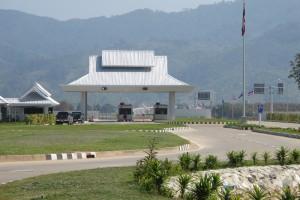 Huay Xai - Laosko-thajský hraniční přechod