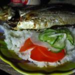 Mořská ryba s rýží, velmi jednoduché a velmi chutné
