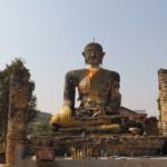 Budha z roku 1564 v Muang Khoun