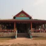 Chrám po cestě do Vientiane