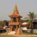 Areál budhistického chrámu