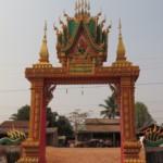 Brána buddhistického chrámu