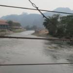 Řeka cestou do blue lagoon
