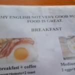 Anglicky sice moc neumím, ale vařím skvěle