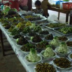 """Těžko pro to hledat název, připomíná to """"salát"""" ze zeleniny, masa, nebo hub a bylinek"""