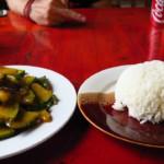 Cuketa se zázvorem a rýží