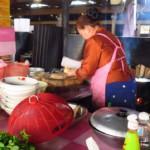 Klasická kuchyně na trhu