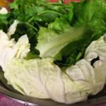 Tradiční příloha - mísa plná salátu
