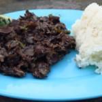 Houby s rýží