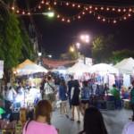 Noční trhy v Chiang Rai