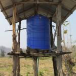 Můj vynález na měření hladiny vody stále funguje :)