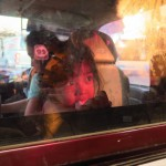 Dcérečka řidičky taxiku