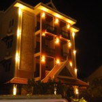 Hotel v Siem Reap