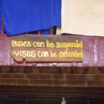 Autobus můžete zrušit, vízum můžete prodloužit