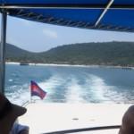 Rozloučení se Saracen bay